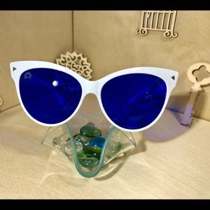 Indigo Cat Eye Sunglasses